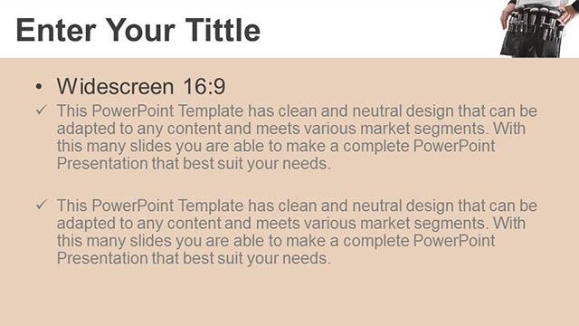化妆刷PPT模板下载_预览图5