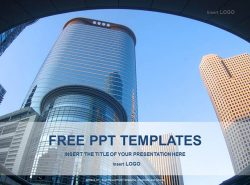现代建筑PPT模板下载