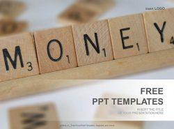 拼字方块PPT模板下载