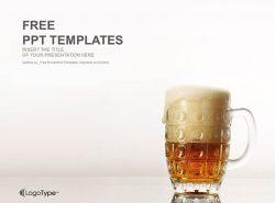 啤酒PPT模板下载