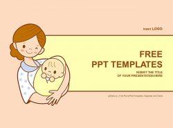 新生儿PPT模板下载