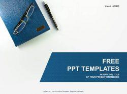 笔记本PPT模板下载