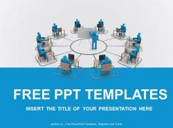 在线培训PPT模板下载