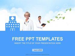 医生PPT模板下载