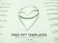 书中的戒指PPT模板下载