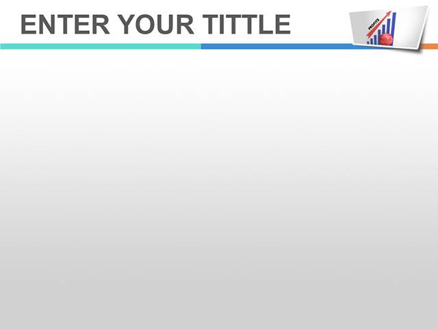 表格中利润上升的箭头PPT模板下载_预览图2