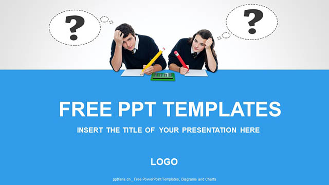学习的疑问PPT模板下载_预览图4