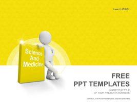 医学与科学PPT模板下载