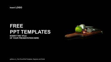 厨具PPT模板下载