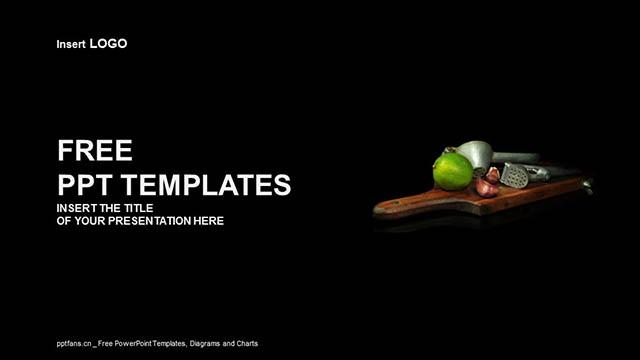 厨具PPT模板下载_预览图4