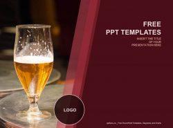 酒吧介绍PPT模板下载