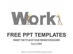 工作PPT模板下载