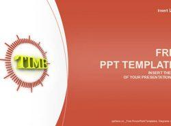 时间商务PPT模板下载