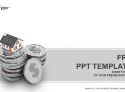 高价住房PPT模板下载