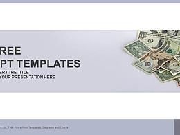 美元纸币PPT模板下载