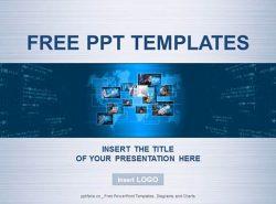 虚拟按键PPT模板下载