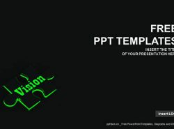 可视化PPT模板下载