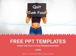 拒绝垃圾食品PPT模板下载