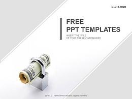 保险理财的优势PPT模板