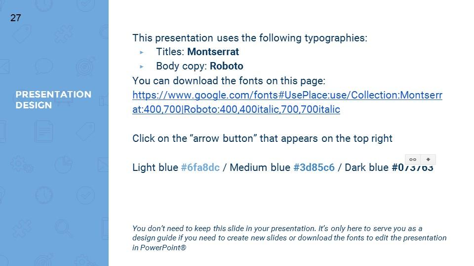 蓝色超实用简洁汇报总结用商务PPT下载_预览图27