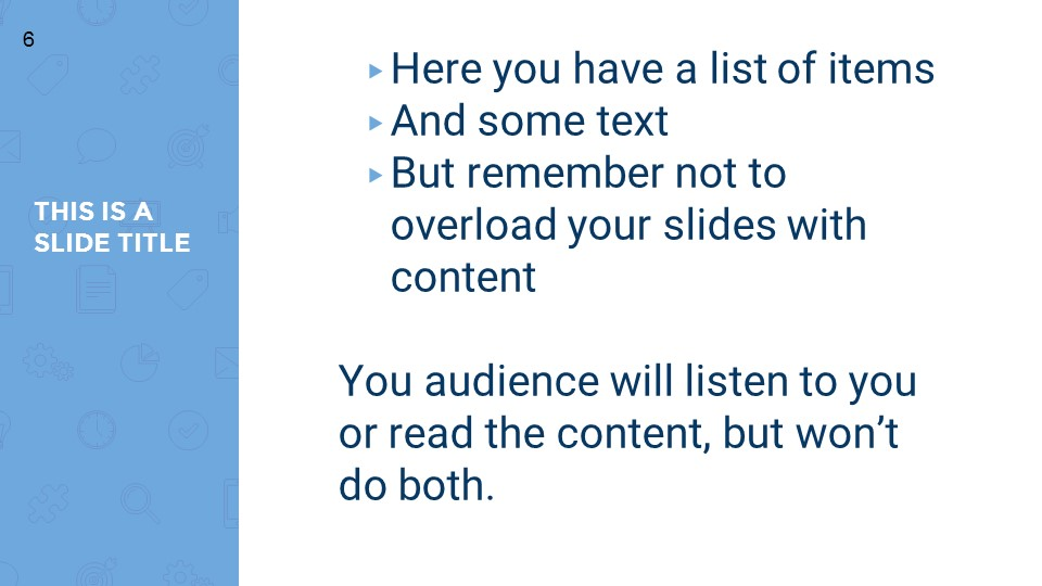蓝色超实用简洁汇报总结用商务PPT下载_预览图6
