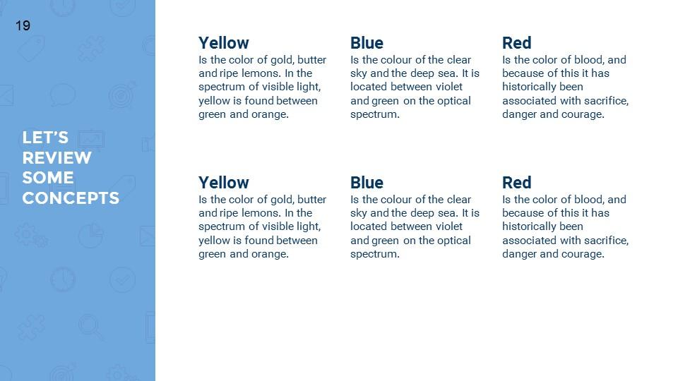 蓝色超实用简洁汇报总结用商务PPT下载_预览图19