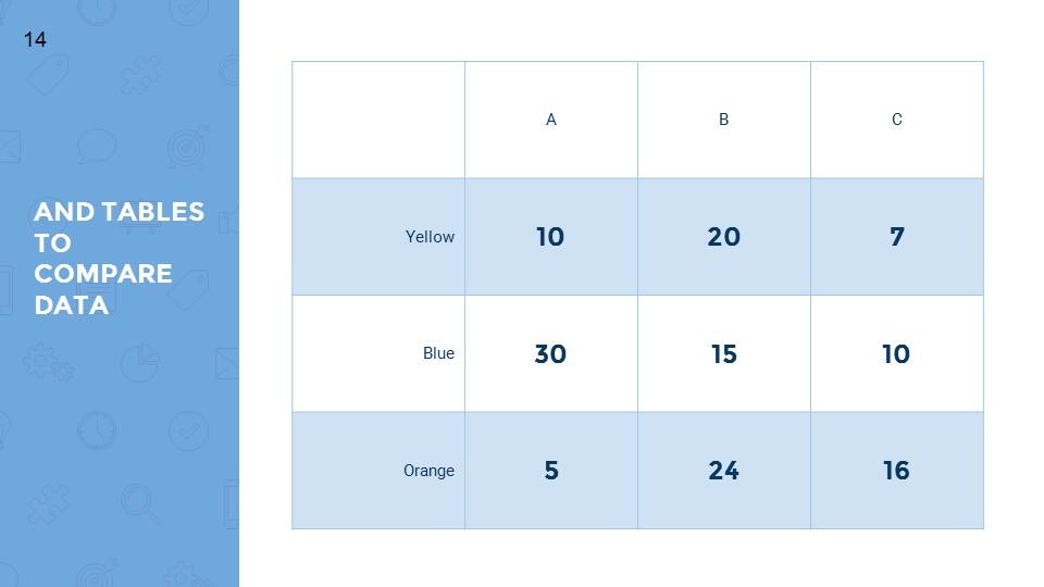蓝色超实用简洁汇报总结用商务PPT下载_预览图14