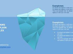 蓝色超实用简洁汇报总结用商务PPT下载