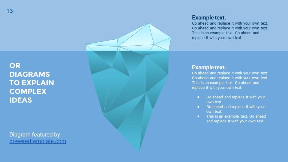 蓝色超实用简洁汇报总结用商务PPT下载_预览图13