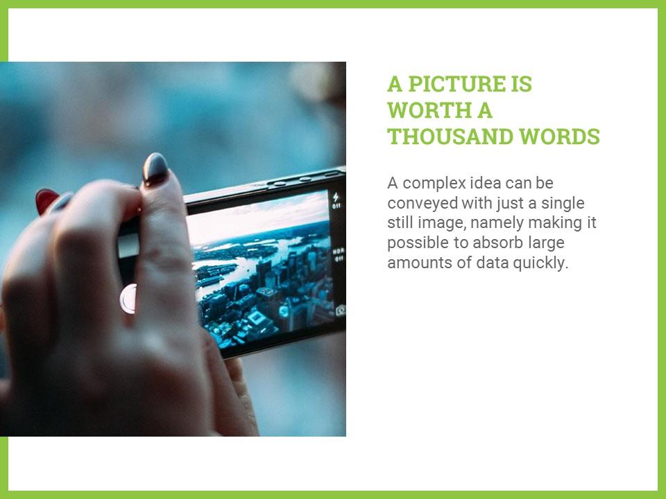 简约绿叶风格优质商务PPT模板_预览图10
