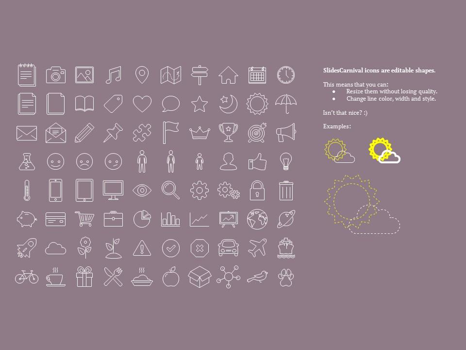 大数据系列简约紫黄配色商务PPT模板下载_预览图12