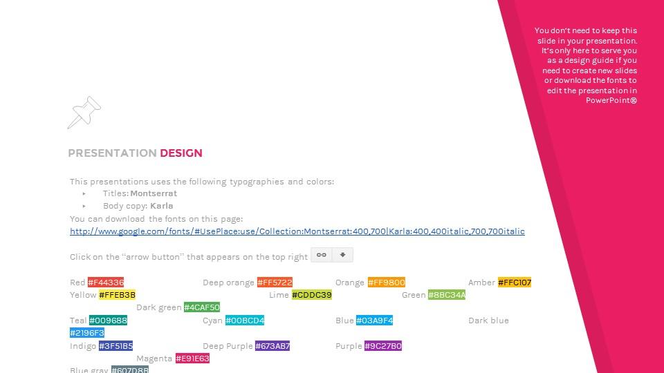 简洁彩虹色背景PPT模板_预览图27