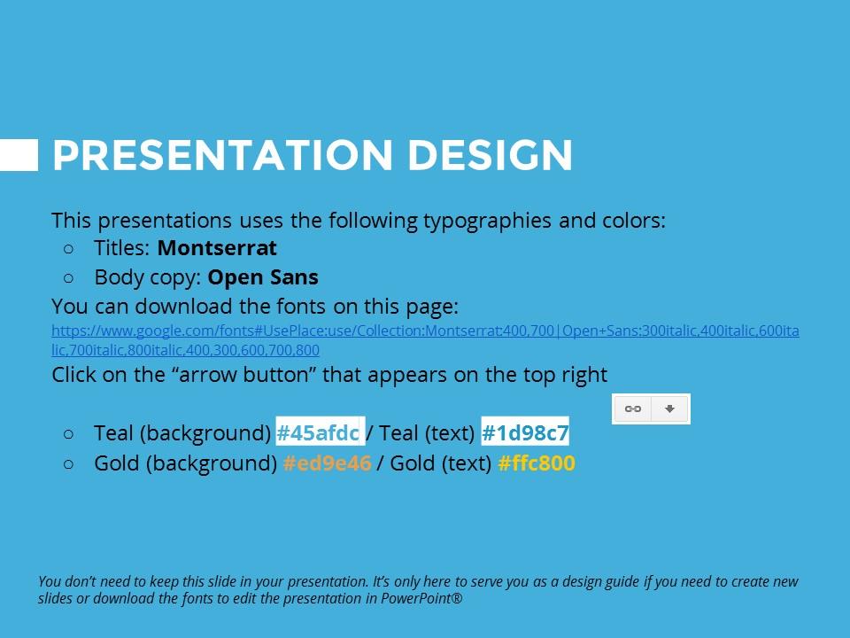 蓝色橙色交替的简洁欧美范PPT模板下载_预览图27