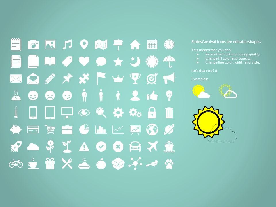 大标题商务多彩色风格幻灯片模板下载_预览图27