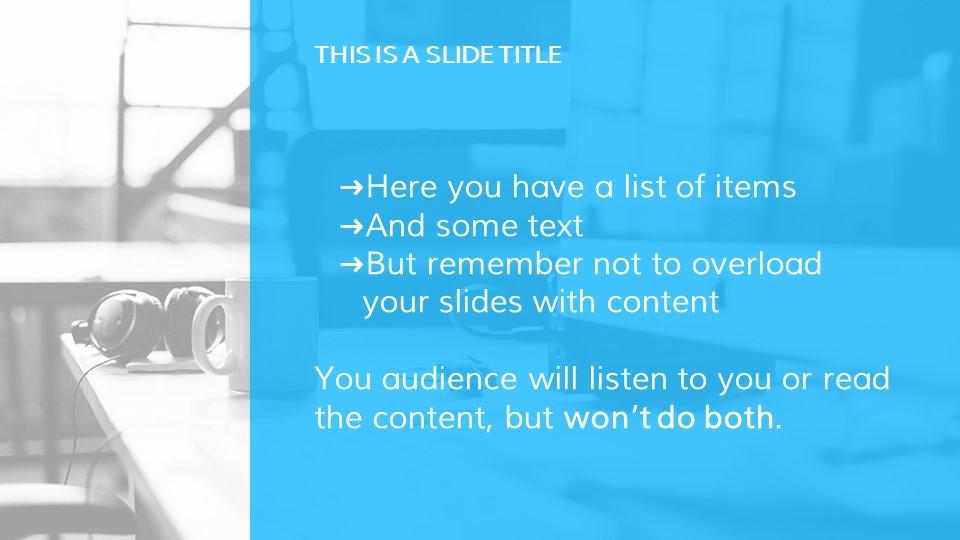 教学用蓝色灰背景课件PPT模板下载_预览图5