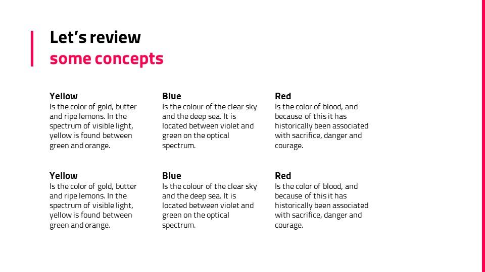 粉红色自然风景系列PPT模板下载_预览图19