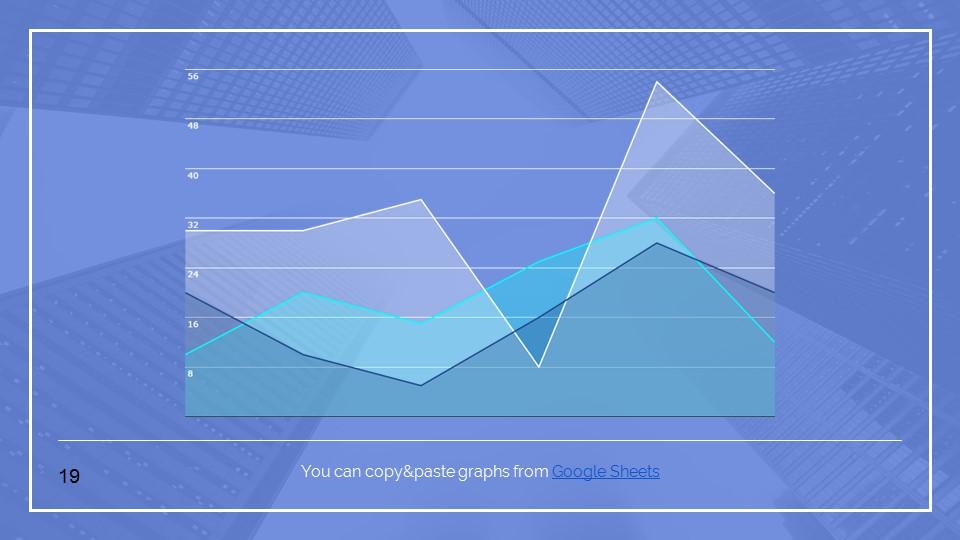 蓝色建筑线条风格汇报PPT模板下载_预览图19