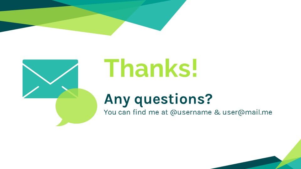 蓝绿色简约商务专用幻灯片模板_预览图24