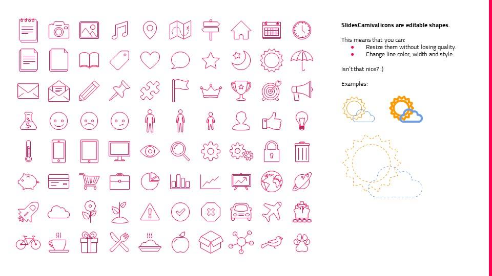 粉红色自然风景系列PPT模板下载_预览图28