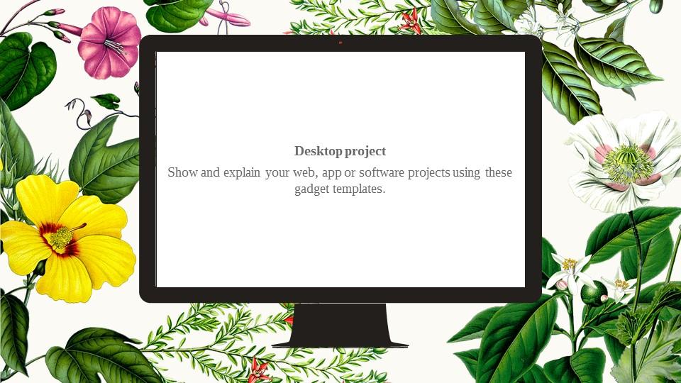 花草彩绘图案风格PPT模板下载_预览图23