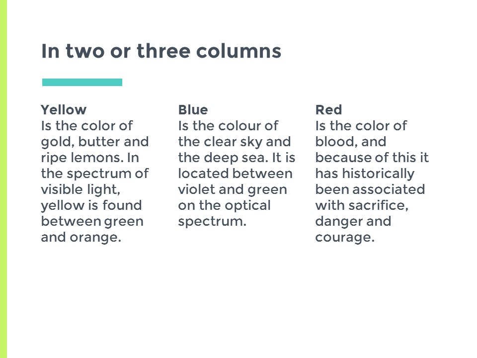 蓝绿主色简洁欧美清新商务风幻灯片模板下载_预览图9