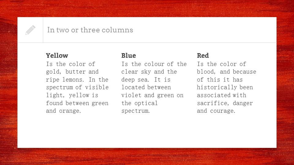红色木地板背景PPT模板下载_预览图9