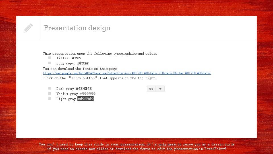 红色木地板背景PPT模板下载_预览图26