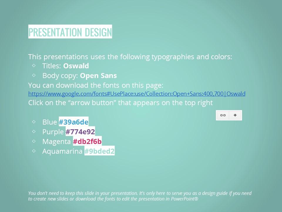 大标题商务多彩色风格幻灯片模板下载_预览图26