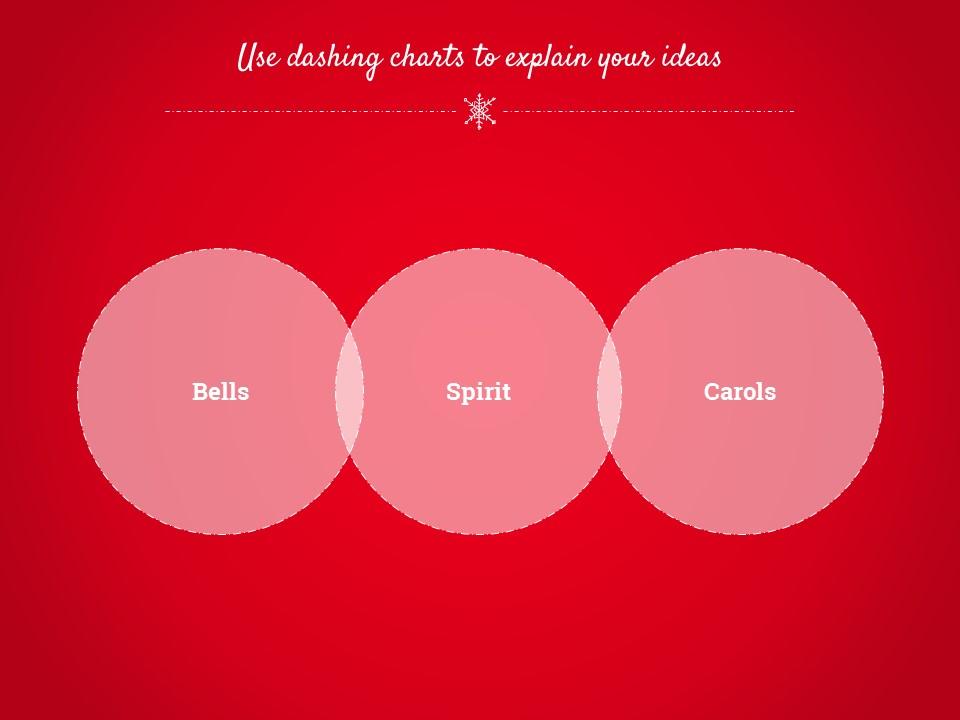 圣诞节卡通线条画红蓝交替背景幻灯片模板下载_预览图11