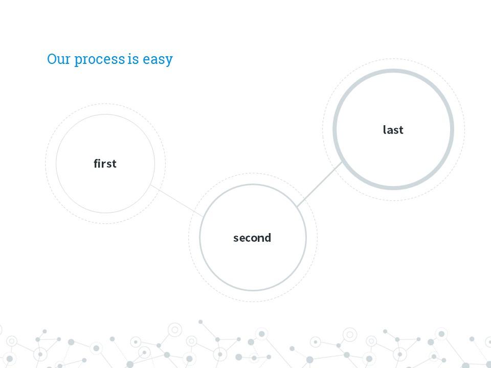 圆点线条商务汇报大数据powerpoint下载_预览图4