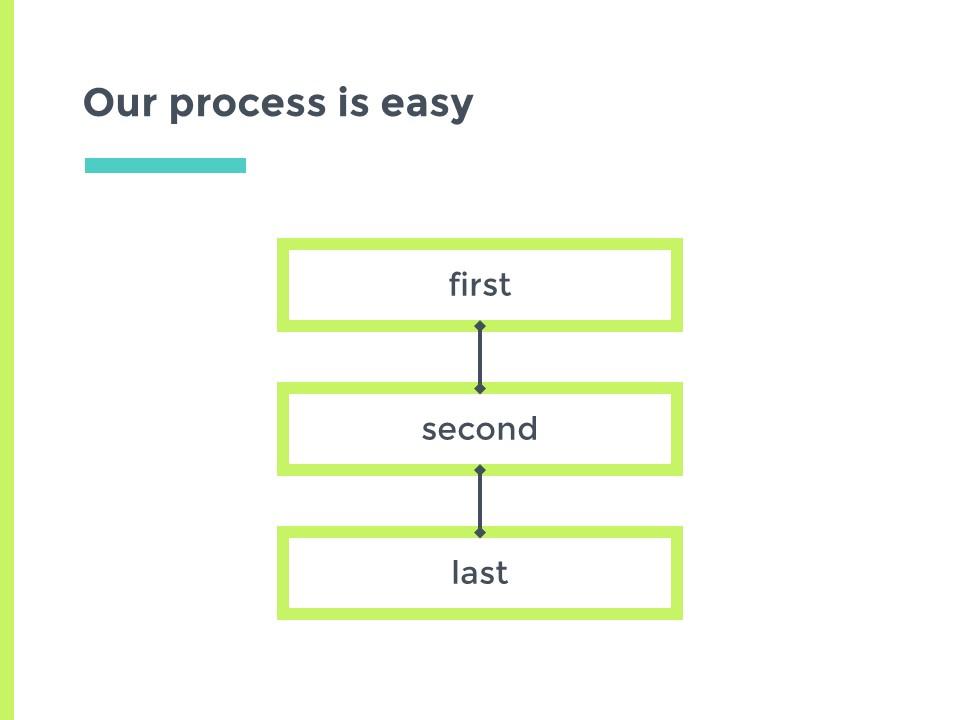 蓝绿主色简洁欧美清新商务风幻灯片模板下载_预览图17