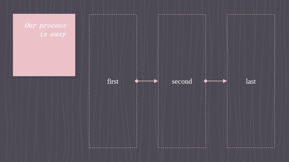 可爱粉色系粉红灰线条背景商务/个人总结汇报PPT模板下载_预览图17
