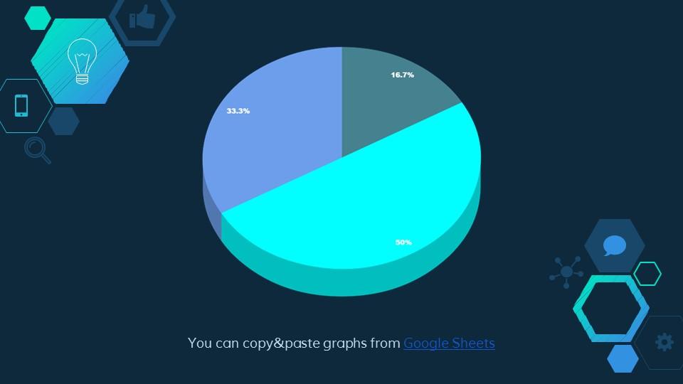 六边形简易图标深蓝色背景PPT模板下载_预览图20