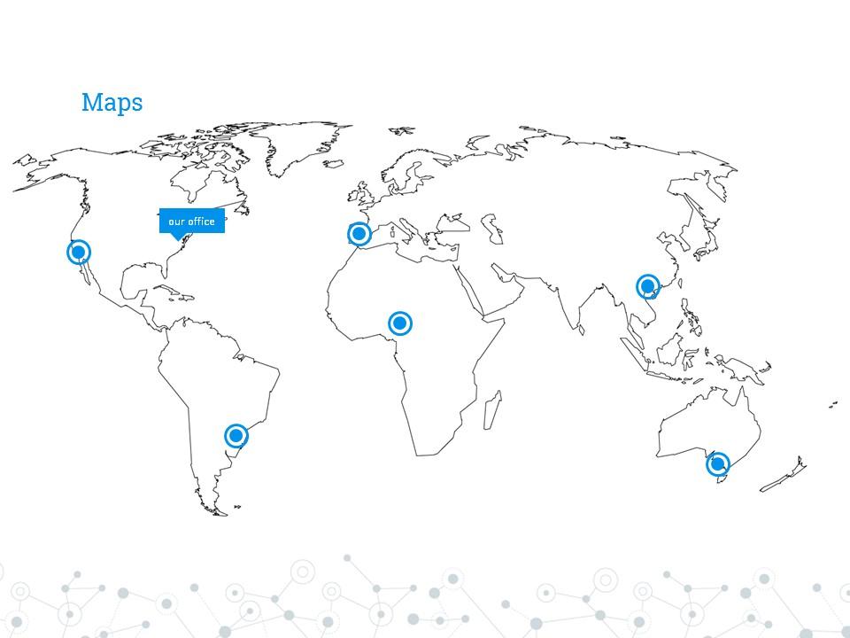 圆点线条商务汇报大数据powerpoint下载_预览图1